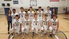 Greybull Buffaloes Boys Varsity Basketball Winter 18-19 team photo.