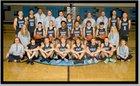 East Thunderbirds Boys Varsity Basketball Winter 18-19 team photo.