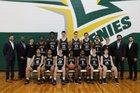 Christ School Greenies Boys Varsity Basketball Winter 18-19 team photo.