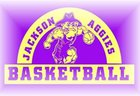 Jackson Aggies Boys Varsity Basketball Winter 18-19 team photo.
