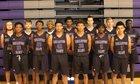 Bellevue East Chieftains Boys Varsity Basketball Winter 18-19 team photo.