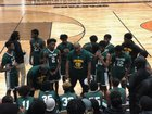 Lithia Springs Lions Boys Varsity Basketball Winter 18-19 team photo.