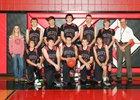 Hulett Devils Boys Varsity Basketball Winter 18-19 team photo.