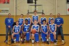 Grand Rapids HomeSchool Angels Boys Varsity Basketball Winter 18-19 team photo.