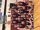 Elba Lancers Boys Varsity Basketball Winter 18-19 team photo.