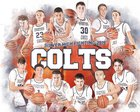 Silver Fighting Colts Boys Varsity Basketball Winter 18-19 team photo.