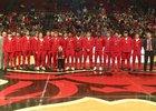 Tuckerman Bulldogs Boys Varsity Basketball Winter 18-19 team photo.