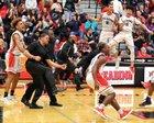 Reading Red KNights Boys Varsity Basketball Winter 18-19 team photo.