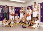Little Snake River Rattlers Boys Varsity Basketball Winter 18-19 team photo.