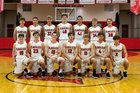 Cumberland Valley Eagles Boys Varsity Basketball Winter 18-19 team photo.