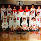 Fairview Knights Boys Varsity Basketball Winter 18-19 team photo.