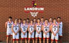 Landrum Cardinals Boys Varsity Basketball Winter 18-19 team photo.