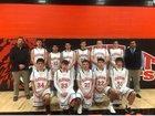 Elkhart Wildcats Boys Varsity Basketball Winter 18-19 team photo.