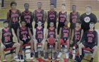 Port Charlotte Pirates Boys Varsity Basketball Winter 18-19 team photo.