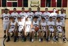 Imagine Prep Storm Boys Varsity Basketball Winter 18-19 team photo.
