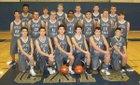 River Ridge Wildcats Boys Varsity Basketball Winter 18-19 team photo.