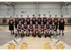 Bradford Eagles Boys Varsity Basketball Winter 18-19 team photo.