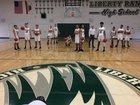 Liberty Ranch Hawks Boys Varsity Basketball Winter 18-19 team photo.