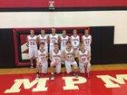 Encampment Tigers Boys Varsity Basketball Winter 18-19 team photo.