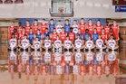 Lincoln County Falcons Boys Varsity Basketball Winter 18-19 team photo.