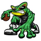 Ribet Academy Fighting Frogs Boys Varsity Basketball Winter 18-19 team photo.