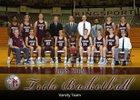 Dobyns-Bennett Indians Boys Varsity Basketball Winter 18-19 team photo.