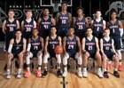 Plymouth Whitemarsh Colonials Boys Varsity Basketball Winter 18-19 team photo.