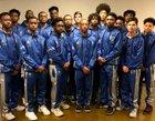 Alpha Academy  Boys Varsity Basketball Winter 18-19 team photo.