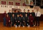 Magdalena Steers Boys Varsity Basketball Winter 18-19 team photo.