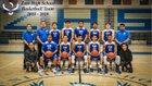 Zuni Thunderbirds Boys Varsity Basketball Winter 18-19 team photo.