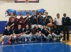 New Paltz Huguenots Boys Varsity Basketball Winter 18-19 team photo.