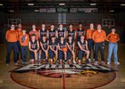 Eldorado Eagles Boys Varsity Basketball Winter 18-19 team photo.