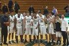 University Buccaneers Boys Varsity Basketball Winter 18-19 team photo.