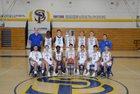 San Pasqual Golden Eagles Boys Varsity Basketball Winter 18-19 team photo.