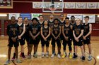 Mountain Pointe Pride Boys Varsity Basketball Winter 18-19 team photo.
