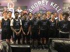 Ardrey Kell Knights Boys Varsity Basketball Winter 18-19 team photo.