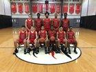 Long Island Lutheran Crusaders Boys Varsity Basketball Winter 18-19 team photo.