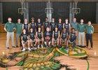 Auburn Trojans Boys Varsity Basketball Winter 18-19 team photo.