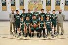 Westwood Baptist Academy Eagles Boys Varsity Basketball Winter 18-19 team photo.