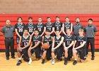 Sandia Prep Sundevils Boys Varsity Basketball Winter 18-19 team photo.