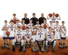 Hot Springs County Bobcats Boys Varsity Basketball Winter 18-19 team photo.