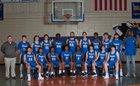 DeWitt Dragons Boys Varsity Basketball Winter 18-19 team photo.