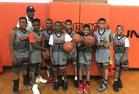 New Canaan Rams Boys Varsity Basketball Winter 18-19 team photo.