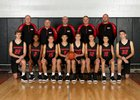 Wapahani Raiders Boys Varsity Basketball Winter 18-19 team photo.
