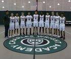 Charles Wright Tarriers Boys Varsity Basketball Winter 18-19 team photo.