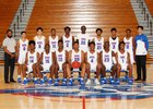 Peachtree Ridge Lions Boys Varsity Basketball Winter 18-19 team photo.