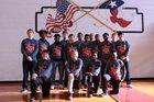 Shelbyville Dragons Boys Varsity Basketball Winter 18-19 team photo.