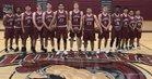 Patriot Warriors Boys Varsity Basketball Winter 18-19 team photo.
