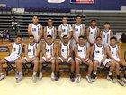 Weslaco Panthers Boys Varsity Basketball Winter 18-19 team photo.
