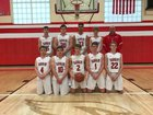Randolph Cardinals Boys Varsity Basketball Winter 18-19 team photo.
